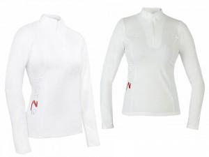 horze婦人競技用長袖ポロシャツ