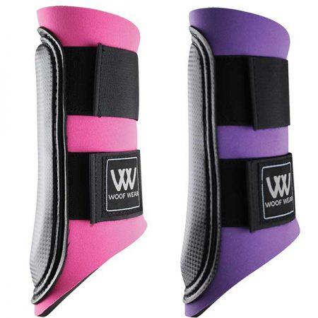 WOOFクラブ・ホースブーツ-ピンク、パーブル