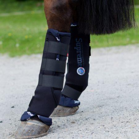 horzeステーブルブーツ後肢1