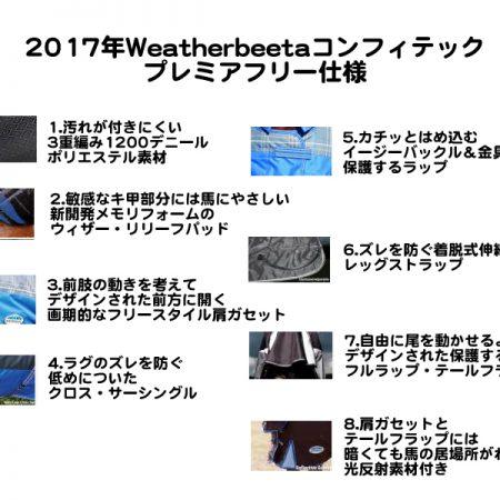 WBコンフィテック・プレミアフリー仕様