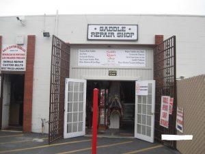 アメリカ乗馬用品修理店