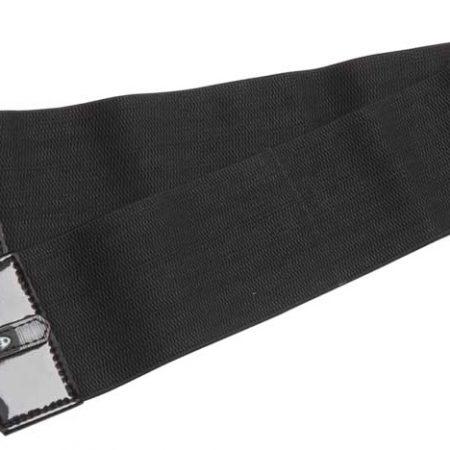 ZilcoUSスタイル330gレース用下腹帯ダブルエラスティック110㎝ 黒