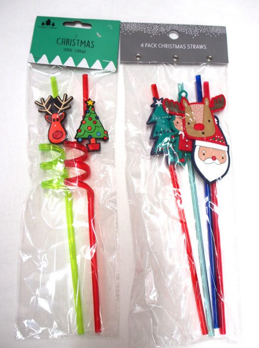 10.Xmas Strows Set-クリスマスストローセット*3本セットor4本セットどちらか