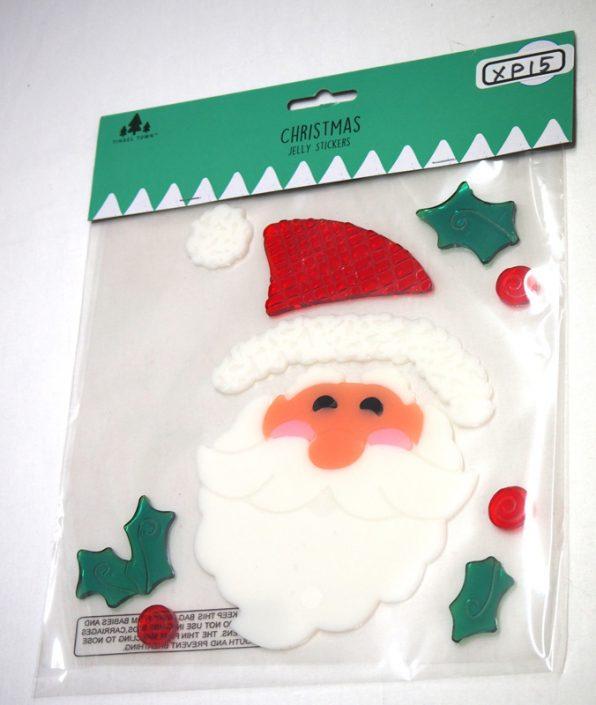 15.Jelly Sticker-サンタウィンドウ・ステッカー