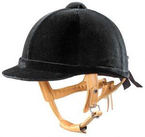 JODZベルベット乗馬ヘルメット